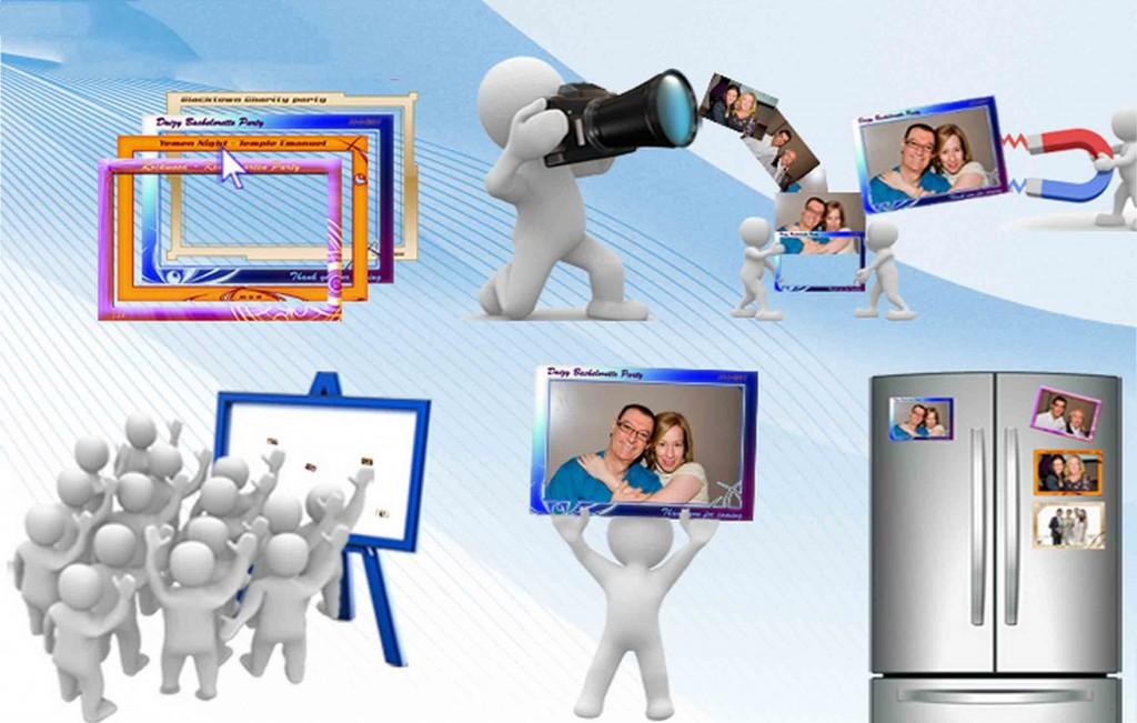 Фотомагнити за хладилниик