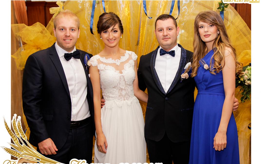 Подаръци за гости – Магнитни снимки от сватбата на Деница и Коста –23.09.17