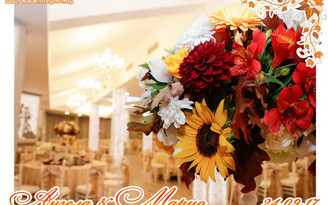 Подаръци за гости – Магнитни снимки от сватбата в хотел Акорд на Ангела и Марио – 24.09.17