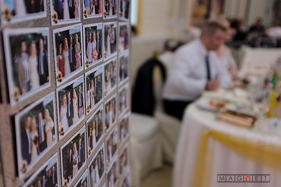 магнитни снимки за сватба, сватбени магнити, снимки на магнит